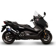 Termignoni 2X1 Street, STAINLESS STEEL YAMAHA T MAX 530 (2017-2019) | Y11309000BCC, ter_Y11309000BCC - Termignoni