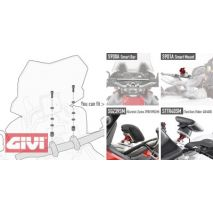Givi 01SKIT Specific kit to mount the Givi S900A Smart Bar or the Givi S901A Smart Mount | 01SKIT, givi_01SKIT - GIVI